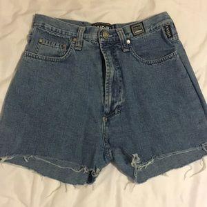 Versace High Rise Shorts